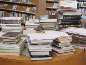 レファレンス研修で集めた本